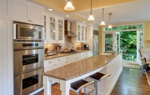Galley Kitchen With Island At End can i please get a kitchen island? | my ideal home