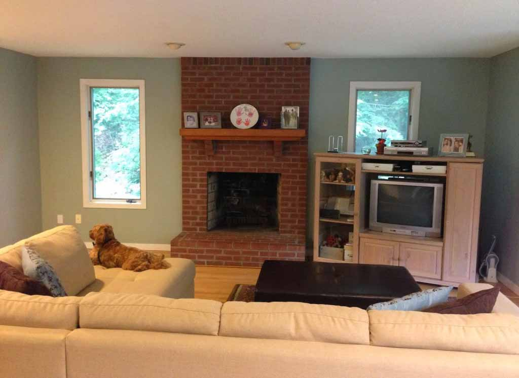 Paint Colours That Go With Red Brick Fireplace Fireplace Design Ideas