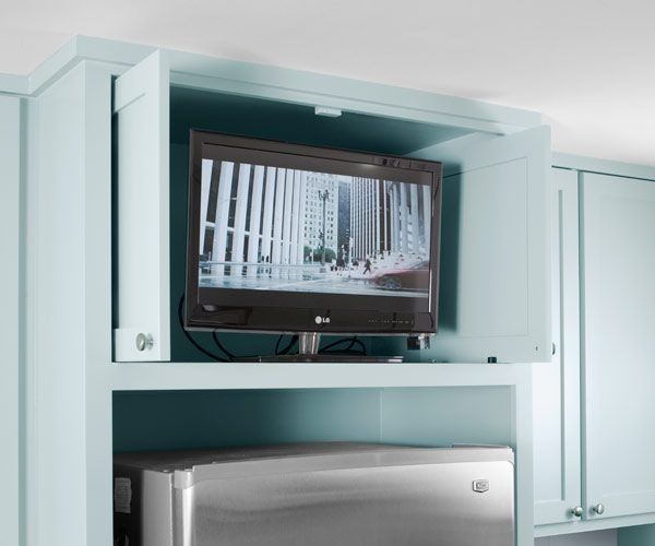 Don\'t Let Your TV Ruin Your Kitchen - My Ideal Home