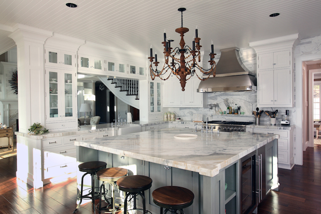 French Inspired Kitchen Islands