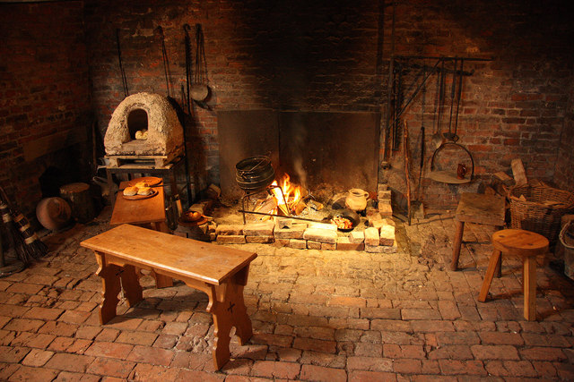 medieval-fireplace