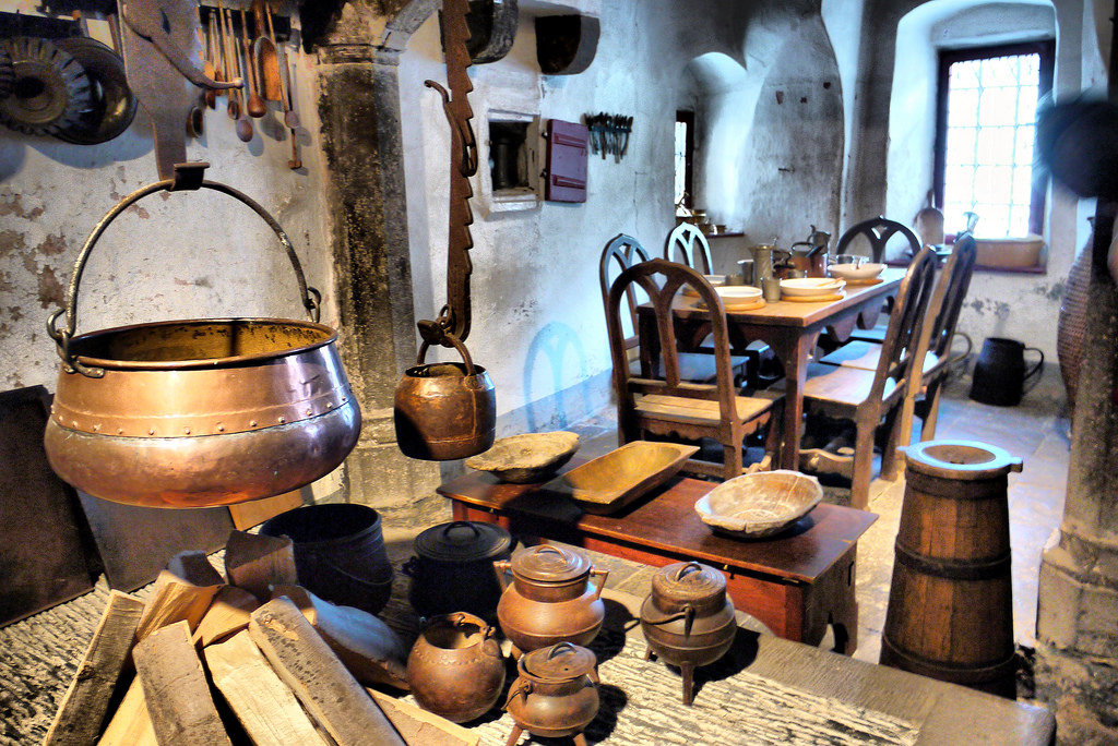 The Medieval Kitchen My Ideal Home - Medieval Kitchen Design