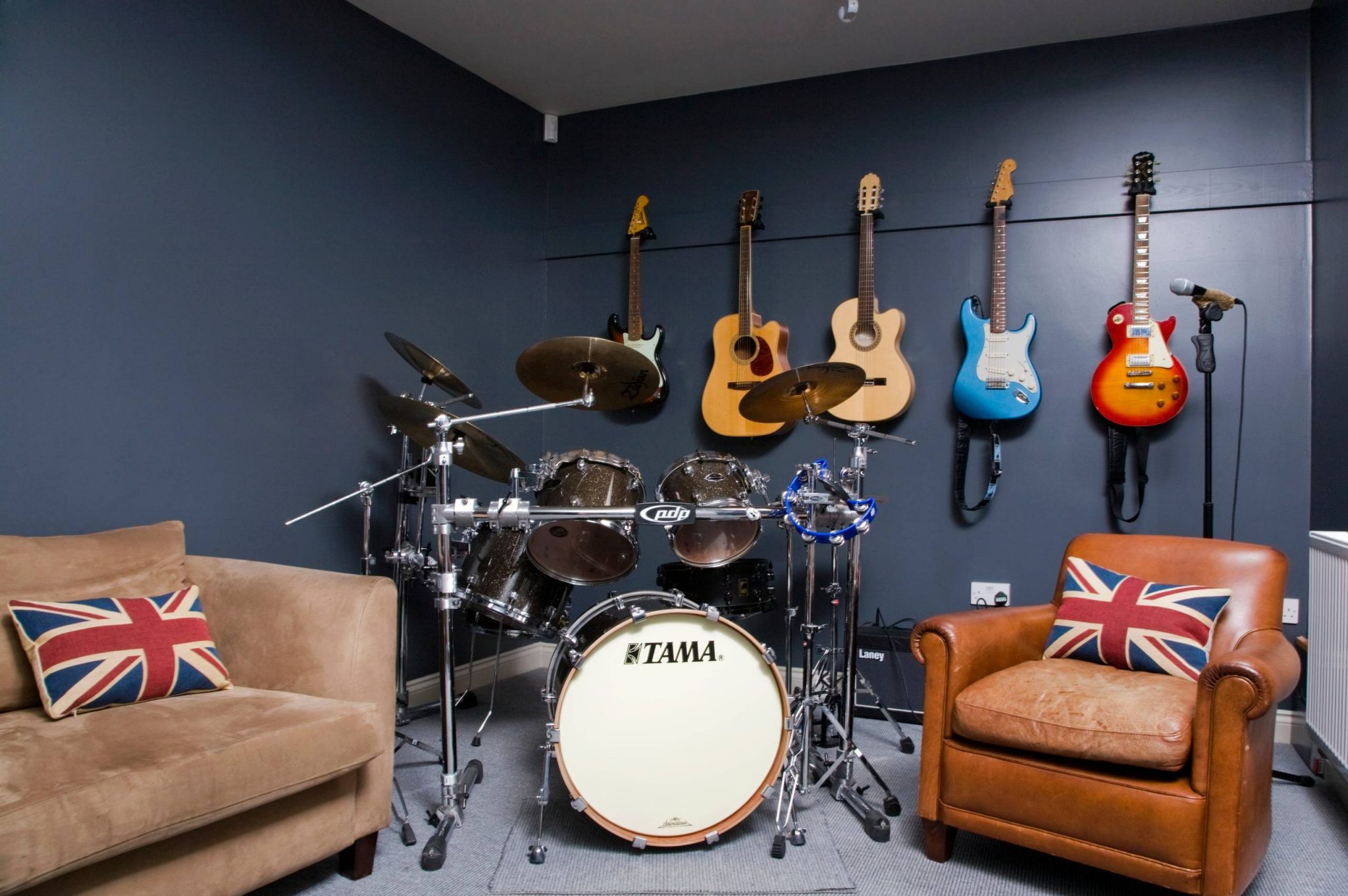 music-studio-room-house-guitars-drums-and-band