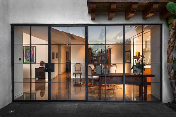 Modern style steel window frames