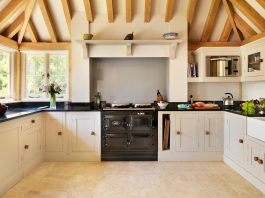 meet the aga  the classic british stove that u0027s gaining popularity    retro wallpaper kitchen    kitchen design ideas kitchen design ideas archives   my ideal home  rh   myidealhome us