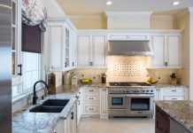 crown-molding-white-antique-cabinets