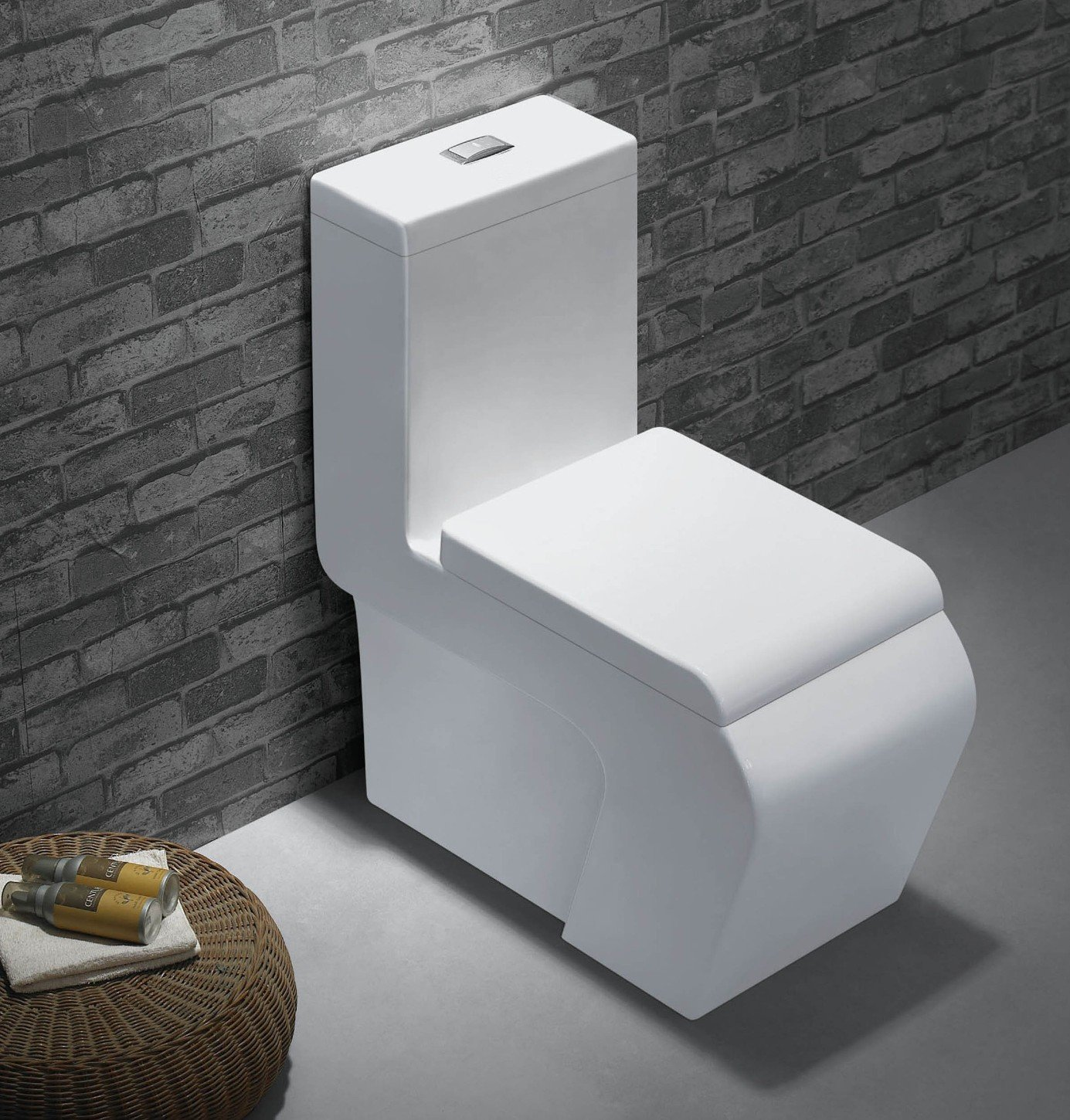 A Ultra Modern Fashionable And Practical Toilet My