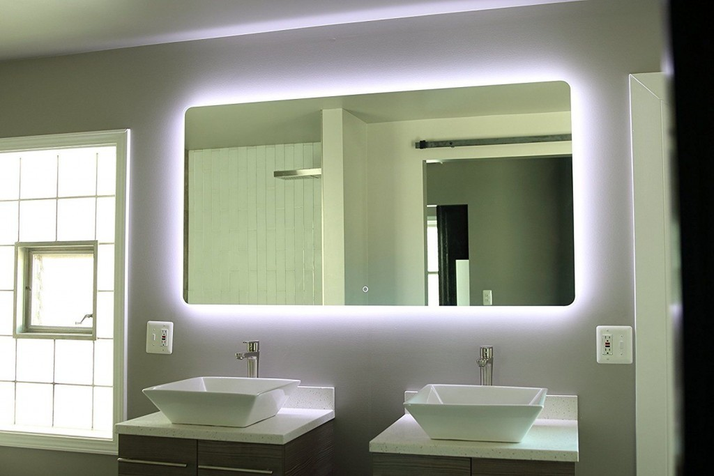 An-Amazon-Alexa-powered-mirror-futuristic-bathroom-technology