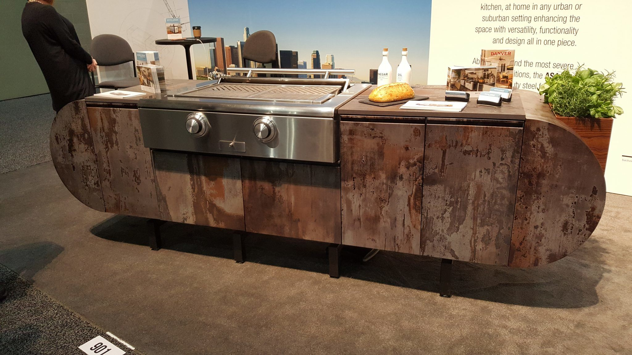 Brown Jordan Stainless Steel Outdoor Kitchen  2 Dwell On Design 2018 Los Angeles