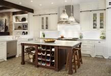 kitchen-island-old-school-wood-kitchen-tiled-floor